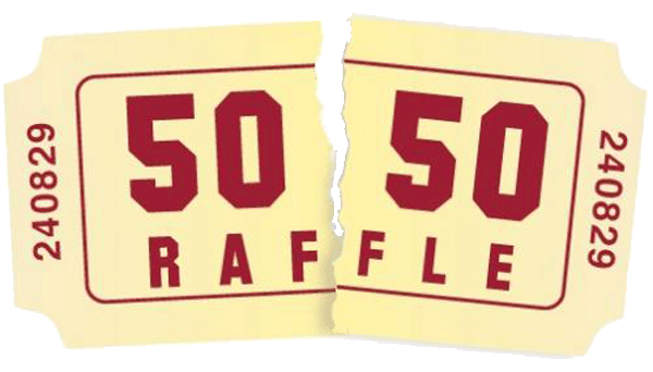 50 50 progressive raffle for celebrate success the for 50 50 raffle tickets template